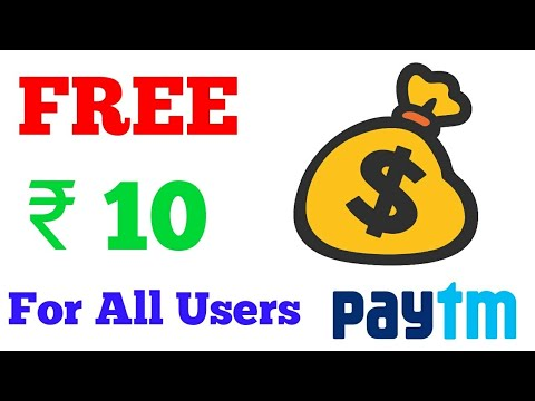 Free ₹10 paytm cash for all users. Earn Daily ₹10 Paytm within 5 minutes payment.