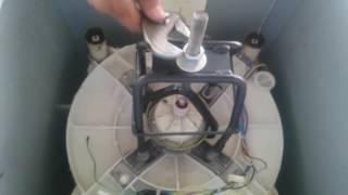 Trocando Kit Mecânica e Rolamentos Brastemp com ferramenta Saca Mecanismo