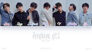 Han rom eng  Bts  방탄소년단  - Airplane Pt.2  Color Coded Lyrics