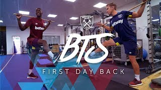FIRST DAY BACK | BEHIND THE SCENES