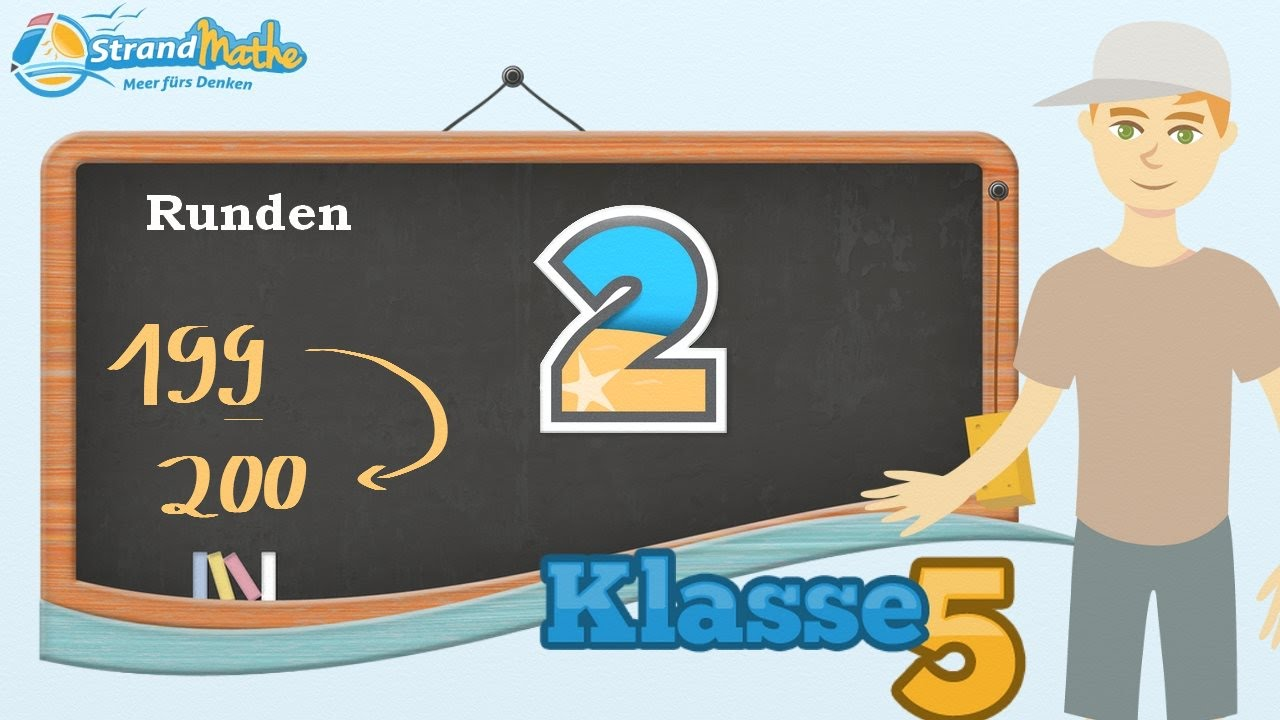 Zahlen Runden || Klasse 5 ☆ Übung 2 - YouTube