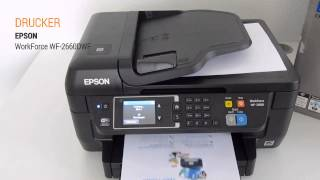 Epson WorkForce WF-2660DWF Hands On Test - Deutsch / German ►► notebooksbilliger.de