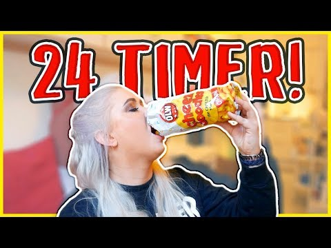 Spiser KUN Ostepop i 24 timer!