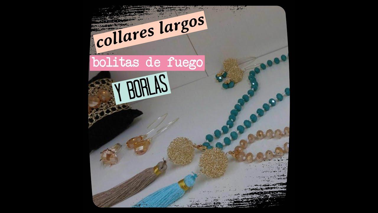 0ab47ce42196 COLLARES LARGOS (BISUTERIA) - YouTube