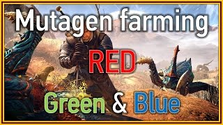 The Witcher 3: Wild Hunt - Mutagen farming (RED, green & blue)