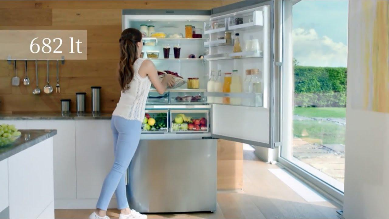 Siemens'ten Yeni XXL Buzdolabı
