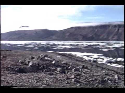 Arctic Bay Nunavut 1994 solo paddling experience GEFerris