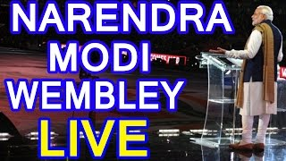 LIVE: Narendra Modi Speech at Wembley Stadium, London, UK