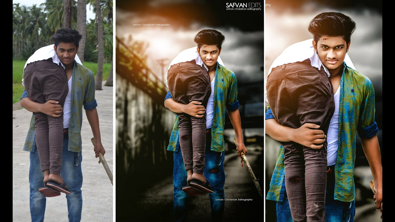 how to edit photo background in photoshop 7