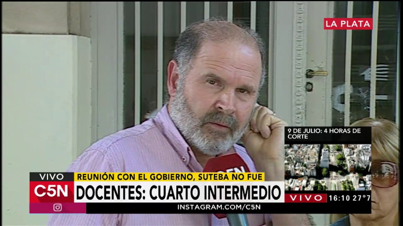 c5n paro docente cuarto intermedio youtube