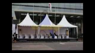 Persewaan Tenda Sarnafil Tenda Roder Barrier Baricade Flooring AC Partisi & Segala Kebutuhan Event Thumbnail