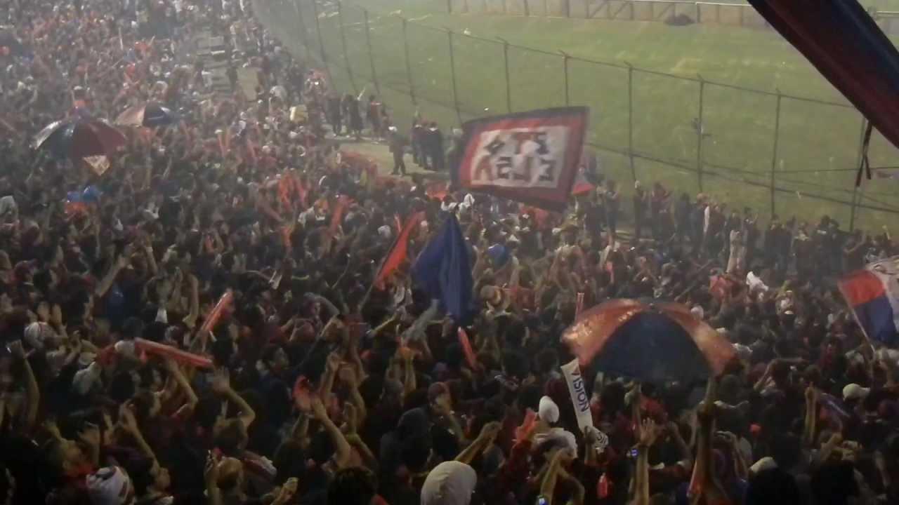 Recibimiento Cerro Porteño vs Jaguares de Chiapas ((Cerro en HD 2011 oficial))
