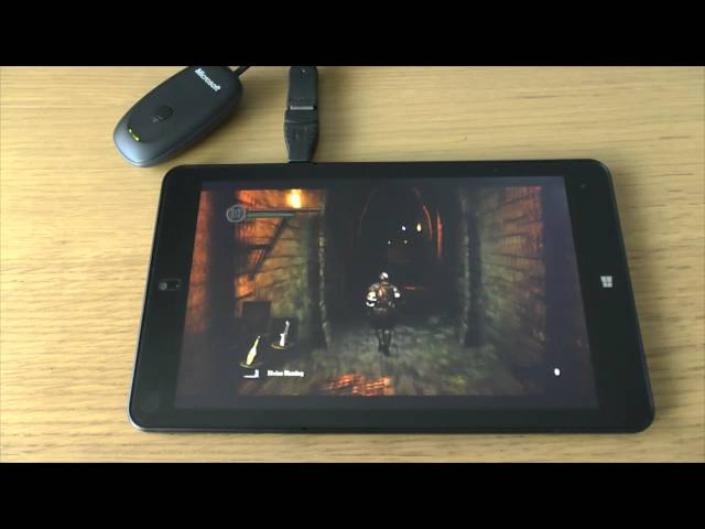 1# Dark Souls : Prepare To Die test on tablet PC Lenovo ThinkPad 8 Intel Atom Z3795 4GB