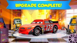 DiSney PiXar Cars Lightning Mcqueen Saves red mack hauler giant crash starts fire disney toy story 1 thumbnail