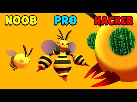 NOOB Vs PRO Vs HACKER - Murder Hornet