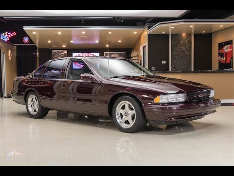 1995 Chevrolet Impala SS For Sale - YouTube