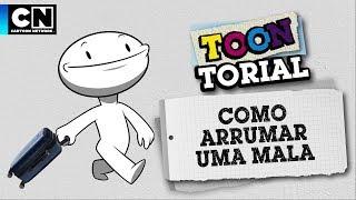 Como arrumar uma mala | Toontorial | Cartoon Network