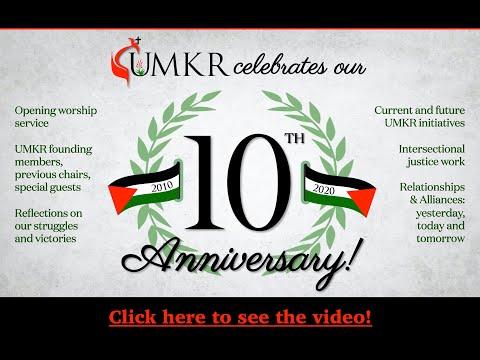 UMKR 10th Anniversary Celebration
