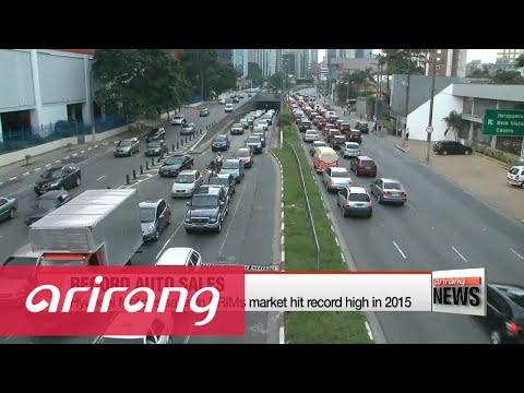 Hyundai Motor posts record sales in BRIMs market in 2015