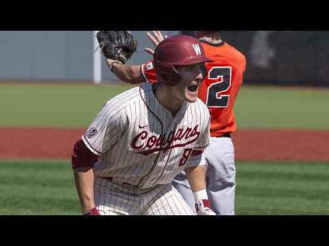 Highlights: Washington State baseball seals series win over Oregon State
