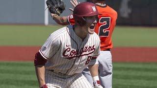 Highlights: Washington State baseball seals series win over Oregon State