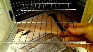 видео Угловой навесной шкаф для посуды
