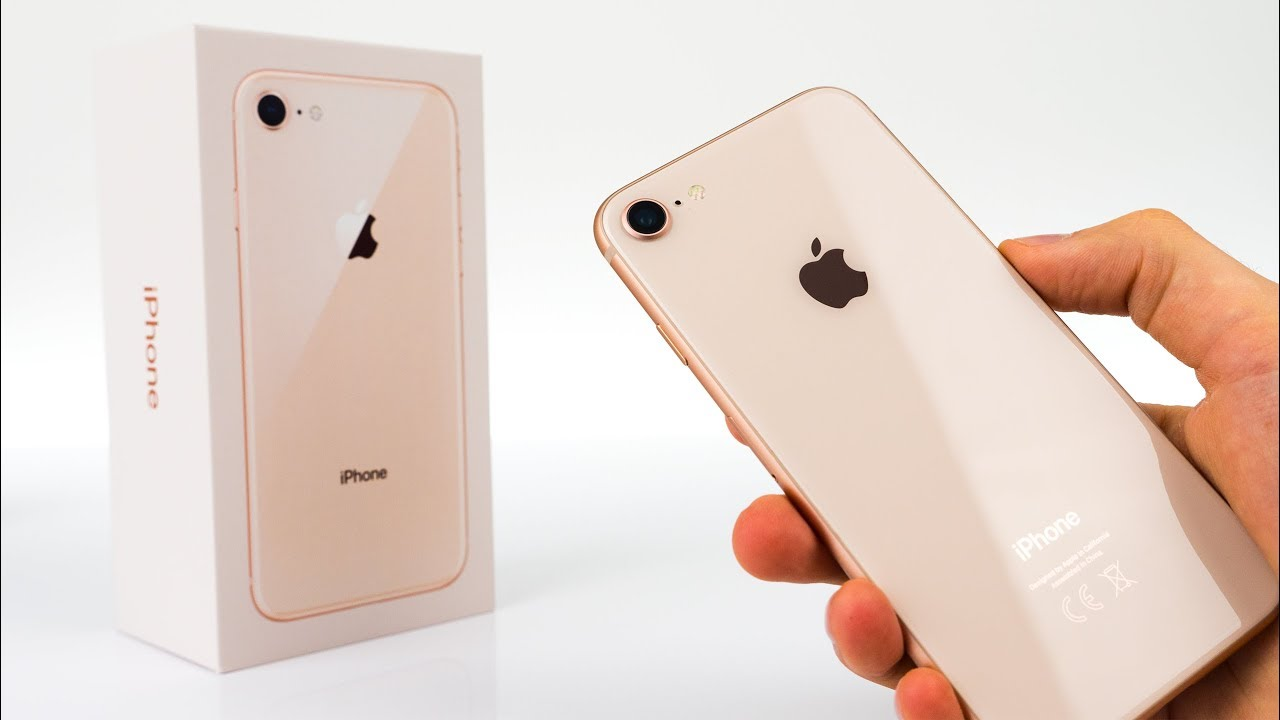 apple iphone 8 gold. iphone 8 gold - unboxing \u0026 initial review! apple iphone l