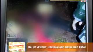Teenager selling balut killed in Misamis Oriental