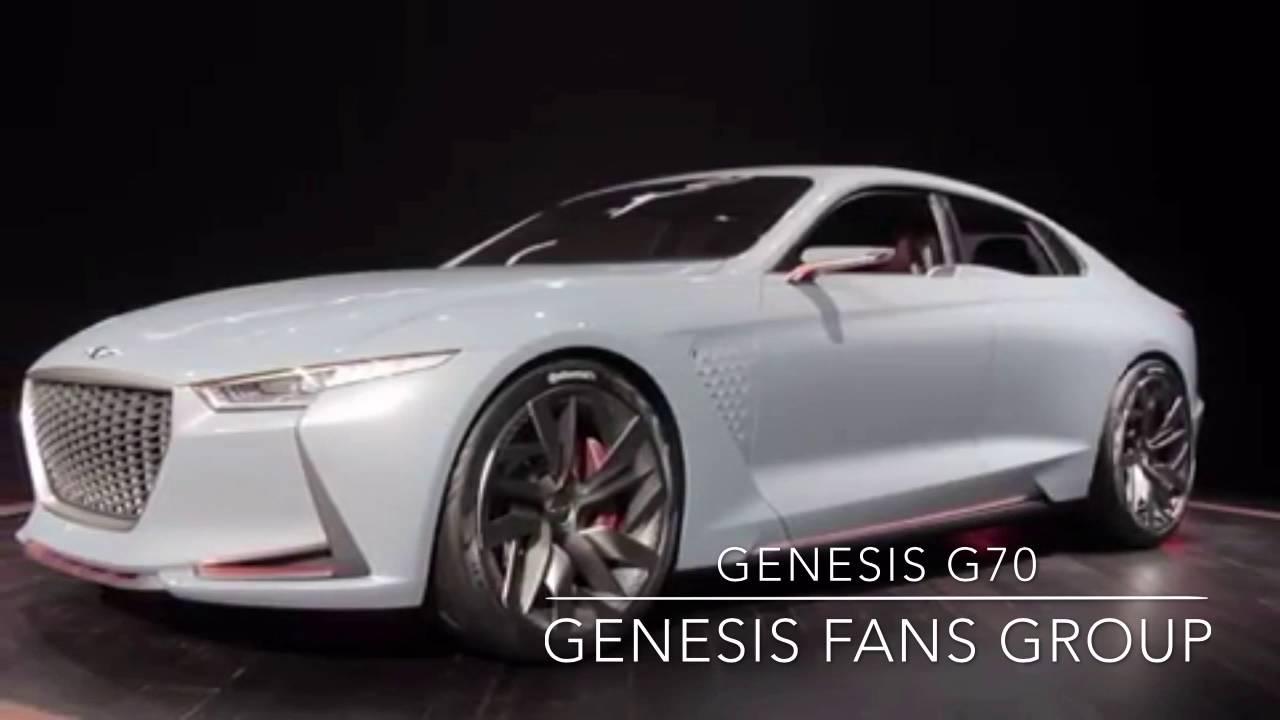 2018 Genesis G70 >> جينيسيس جي ٧٠ كونسبت - genesis G70 - YouTube