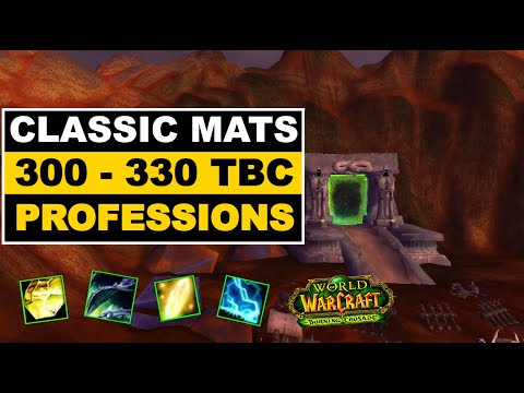 TBC PROFESSIONS With classic mats – Burning Crusade profession guide