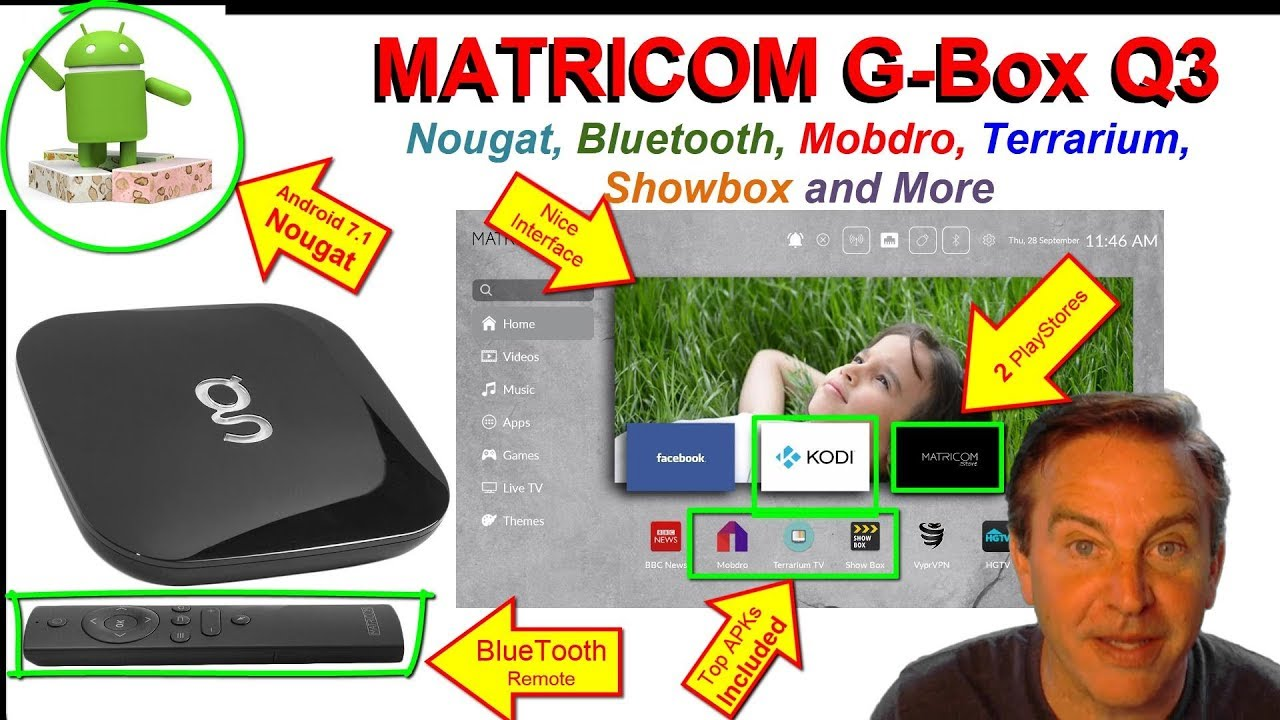 3a1ea68c3f24 MATRICOM G-Box Q3 - there s a lot packed in there! - YouTube
