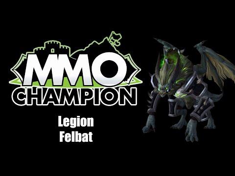 The new Felbat mount!