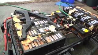 Mitsubishi i-MiEV: Cracking open the battery