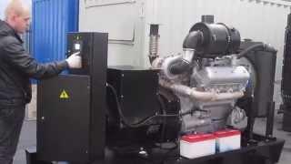 видео дизельный генератор 100 квт