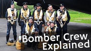 ⚜   World War 2 Reenactment: Crew inside Bomber