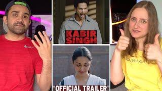 Kabir Singh Trailer Reaction| Shahid Kapoor | Kiara Advani