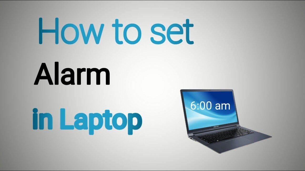how to set alarm on computer windows 7
