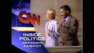 "1995 CNN ""Inside Politics"" commercial"