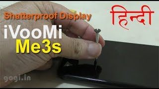 iVooMi Me3S review (भाग 2) - Drop test, Shatter Proof Display?