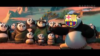 Кунг-фу панда 3 (футбольный трейлер)