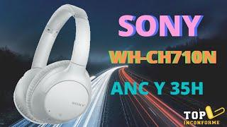 Sony WH CH710N | Español | Gama media ANC