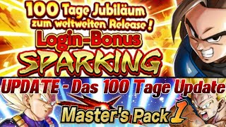 UPDATE - Das 100 Tage DBL Event Update! O.O Kostenlose Summons! | Dragon Ball Legends Deutsch