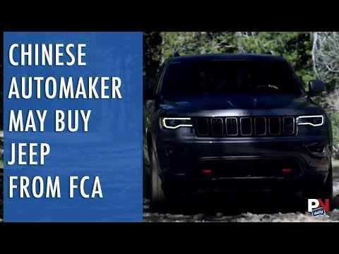 Chinese Automaker May Buy Jeep