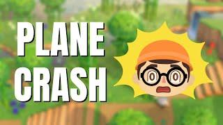 🔴 PLANE CRASH Jungle Build | Animal Crossing New Horizons