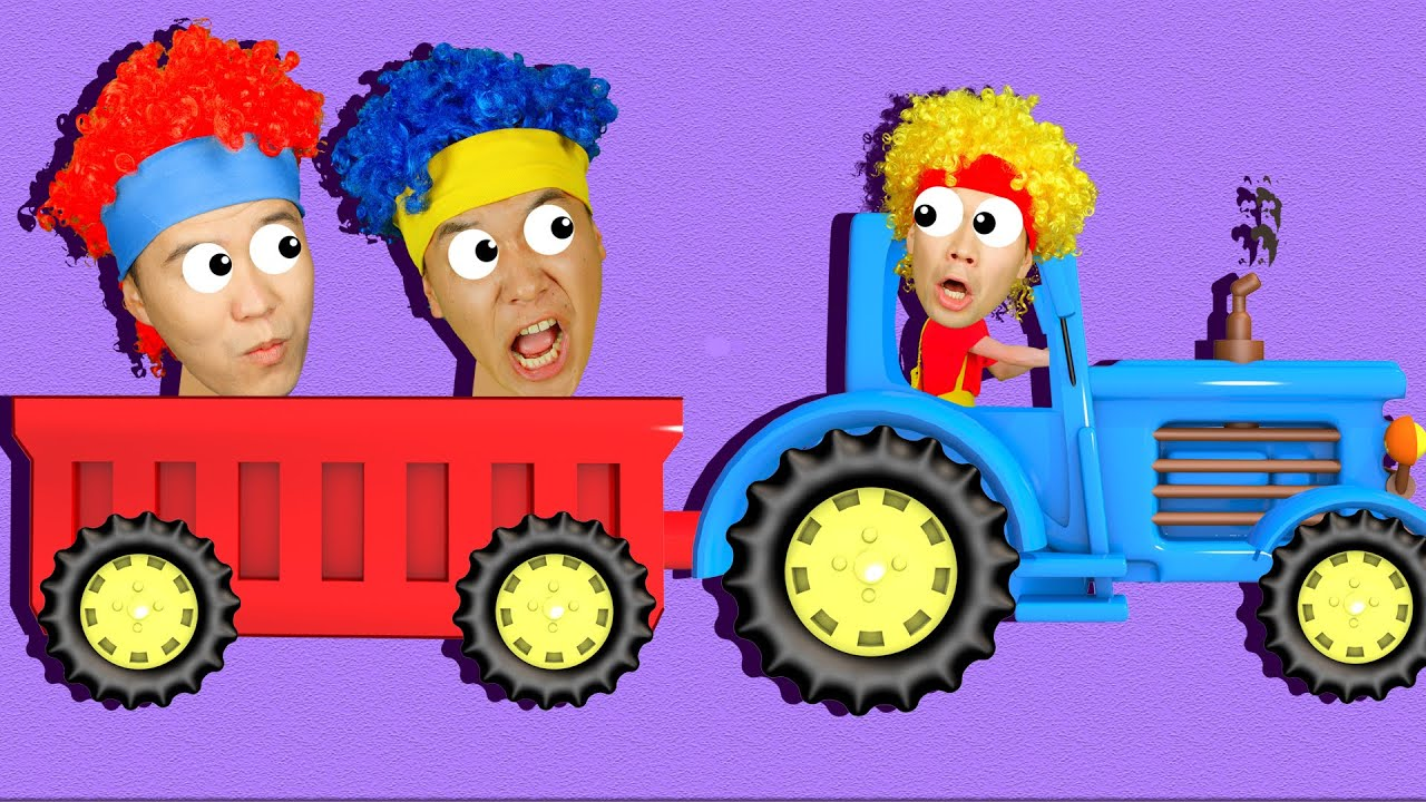 Chicky's Tractor | D Billions Kids Songs