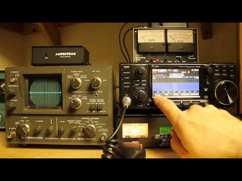 Icom IC-7300 Tips and Tricks - Using Two Tones to Check Linearity