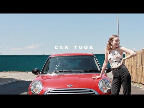 Car Tour - What's In My Mini? | Katie Joslin