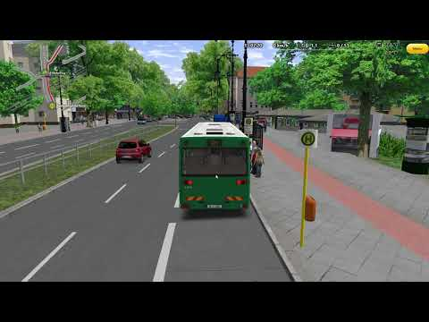 Omsi 2 - Berlin X10 - Route 104 Fiktiv  