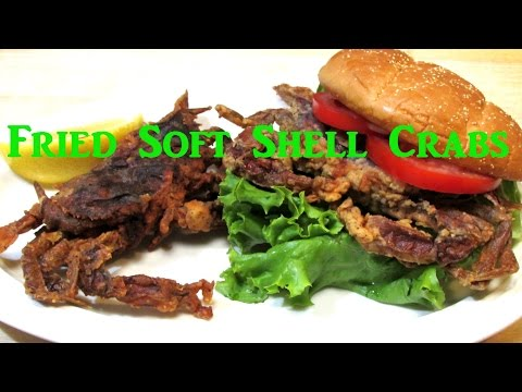Pan Fried Soft Shell Crabs - How To Fry Soft Shell Crabs