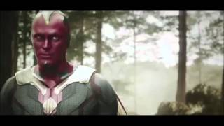 Vision and Ultron: Humans are odd